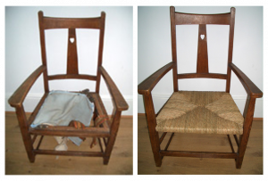 Chair Caner - Before & After