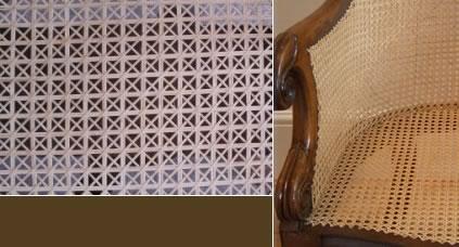 Chair Caner Cane repair & restoration